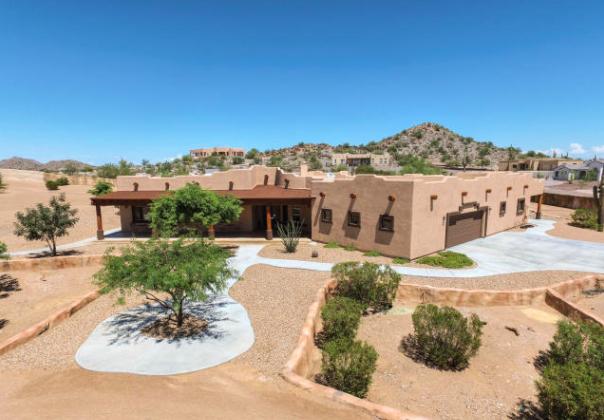 Beautiful santa fe style home in queen creek arizona news for Santa fe style homes