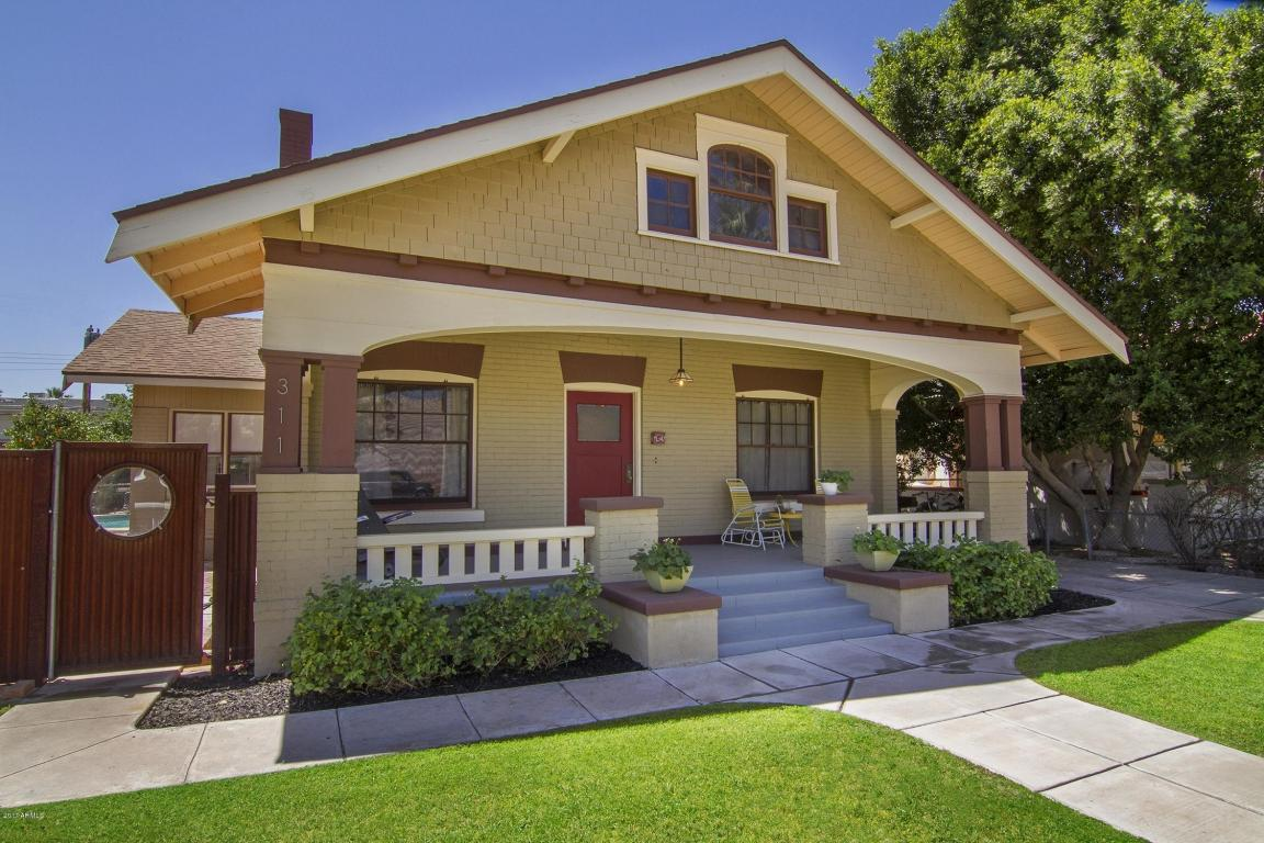 Classic Craftsman 1920 Bungalow Style Home In Phoenix