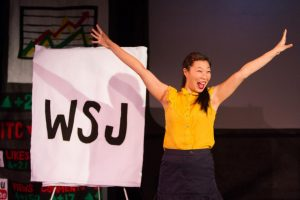 """Kristina Wong performs """"The Wong Street Journal"""" at ASU Gammage on Jan. 20. Photo courtesy of Jen Cleary."""