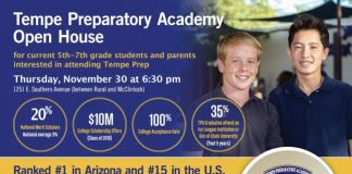 TPA Middle School Open House