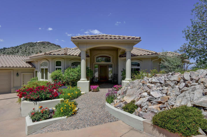 Multi Level Contemporary Home In Prescott Arizona News