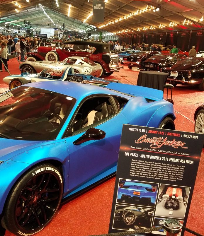 BarrettJackson The Greatest Show For Cars Coming To Scottsdale - Scottsdale car show today