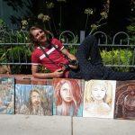 Artist Montigue Eaton