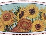 Van Gogh Famous painting Sunflower hair clip