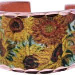 Van Gogh's Sunflowers Inspired Art Jewelry Rings