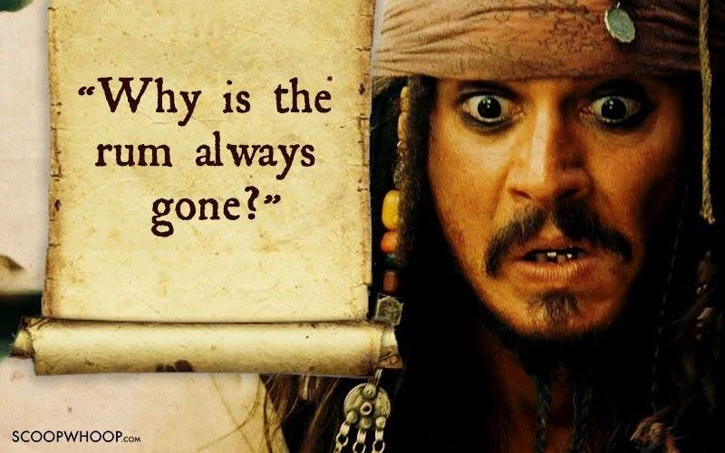 Why Is The Rum Gone Quote: Rum Festival Celebrates Jack Sparrow's Drink Of Choice