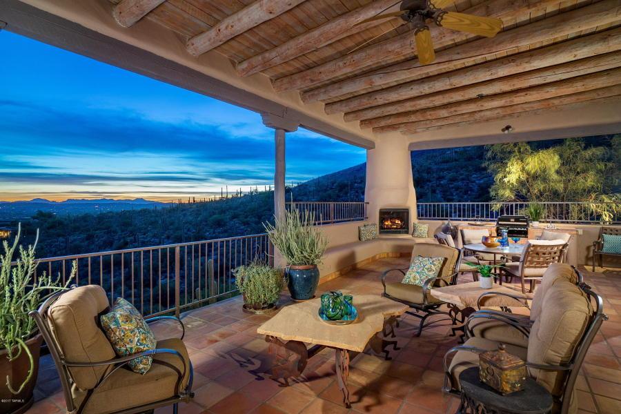 Stunning Tucson Ray Birch Custom Home With Mountain Views