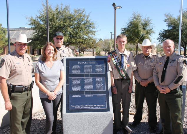 Cochise County Sheriff Awarded National Responsibilities