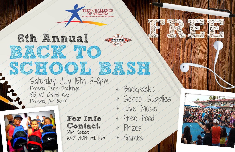 Free Backpacks And School Supplies In Phoenix Az- Fenix