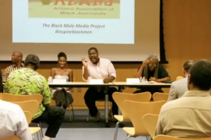 NABJ panel discussion black male media project