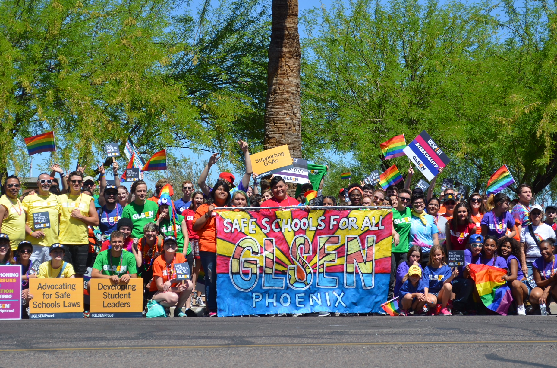 GLSEN Phoenix Awarded $150,000 Grant From The Bob and Renee Parsons