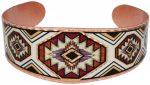 SW Native American Copper Bracelets